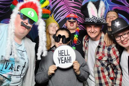 Everyone loves a photo booth. We guarantee you'll have loads of fun too!