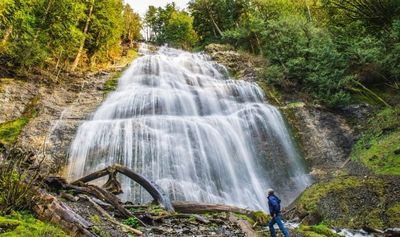 Bridal Falls, Chilliwack BC, also known as the heart of the valley- our gateway to healthy living