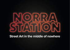 Norra Station - Street art in the middle of nowhere