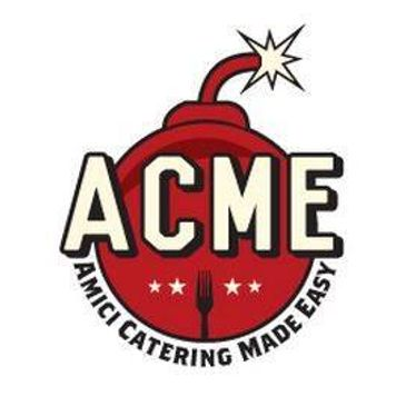 acme logo, catering