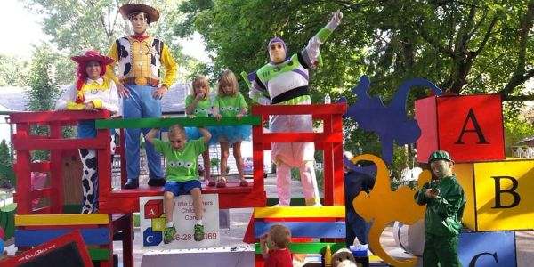 Toy story float