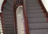 Hartley & Tissier Flat weave runner and stair rods