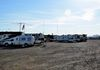 You know you have arrived at Quartzfest when you can see the forest of antennas attached to RV's.