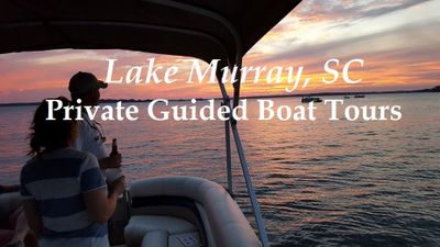 Pontoon Tours of Lake Murray Public Tours Private Tours Columbia, SC Lexington Irmo Sumter Cayce