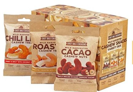 Retail Pack of Bali Cashew - Brazpsice Spices International.