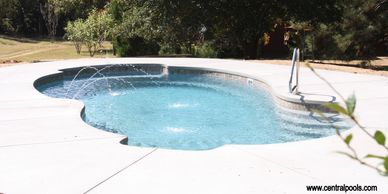 Central Pools, Inc Fiberglass pools Trilogy fiberglass pools Baton Rouge pools