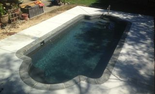 Central Pools, Inc. Trilogy fiberglass pools, Ceres - Hydra pool Baton Rouge fiberglass pools