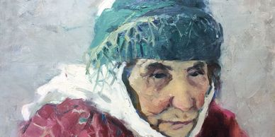 Soviet artists Oil paiting sales. Vintage hand water colored etching sales. Interior arts sales