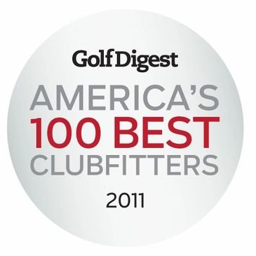 Golf Digest Top 100 Best Club Fitters 2011, Conquest Custom Golf Professional Golf Club Fitting