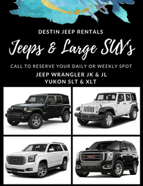 30a Car Rental 30a Jeep Rentals 30a Car Rental