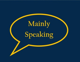 Mainly Speaking - Speech, language & professional development