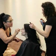 Professional Bridal & Bride makeup On Location.  Wedding hair and wedding makeup artist.