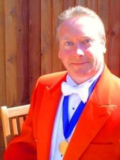 Paul Dempsey M.INST.MCT Toastmaster Wirral, Merseyside, Cheshire, Buxton and Manchester.
