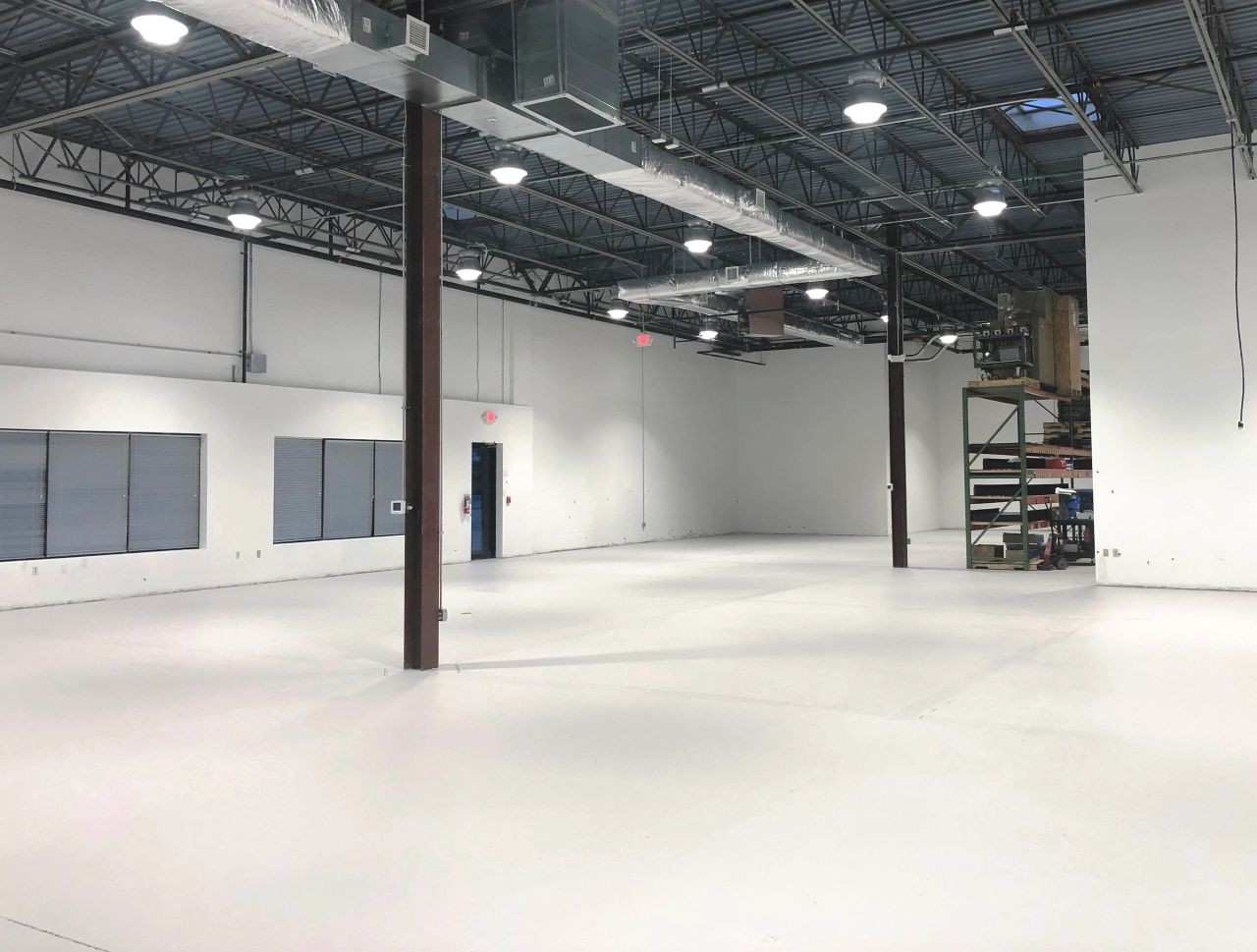 Commercial Warehouse Painting Service Maryland Professional