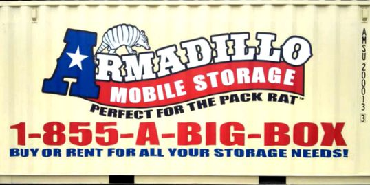 Armadillo Mobile Storage Texas, Texas Storage Containers, Storage Containter Rentals