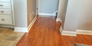 Baseboards and shoe molding