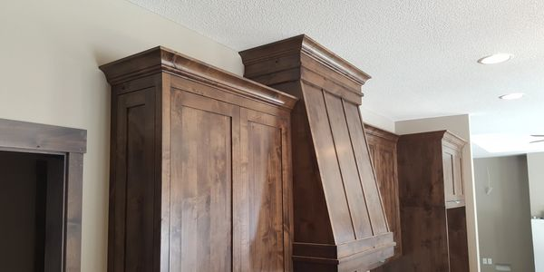 cabinet installation, crown molding
