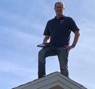 Me inspecting a roof near Waterford Lakes