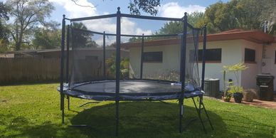 Trampoline Assembly Installation Repair Moving Services Orlando