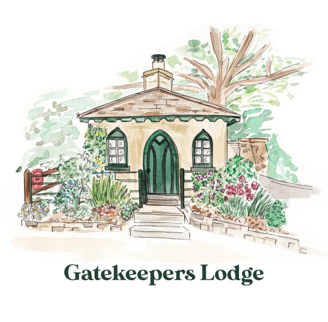 Gatekeepers Lodge, unique accommodation at Dyrham Park near Bath