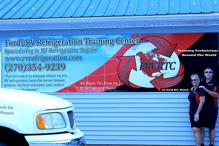 RV Refrigerator Repair and Training Center Banner jpg.