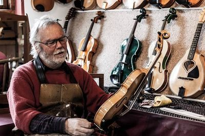 Tim Phillips, Add A Band, violin maker