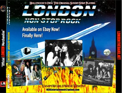 LONDON-Non Stop Rock album re released Jan 2019 1st time ever on CD format from original Masters.