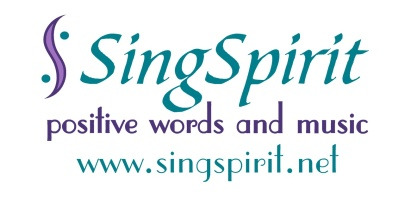 SingSpirit positive words and music
