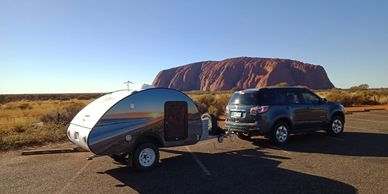 Take a GoPod Camper to Uluru and outback Australia