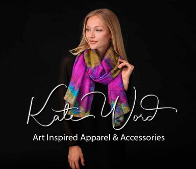 Art inspired apparel by Kate Word here:  https://bit.ly/2F6UJPQ