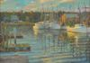 "Shrimp Boats, Oil on Canvas 34""X42"" (Sold)"