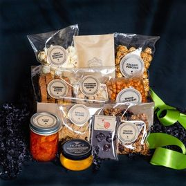 Gift Baskets are filled with delicious homemade goodies  perfect for sharing on a festive occasion