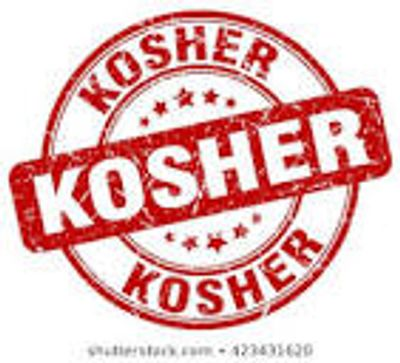 Kosher certified bottle water available