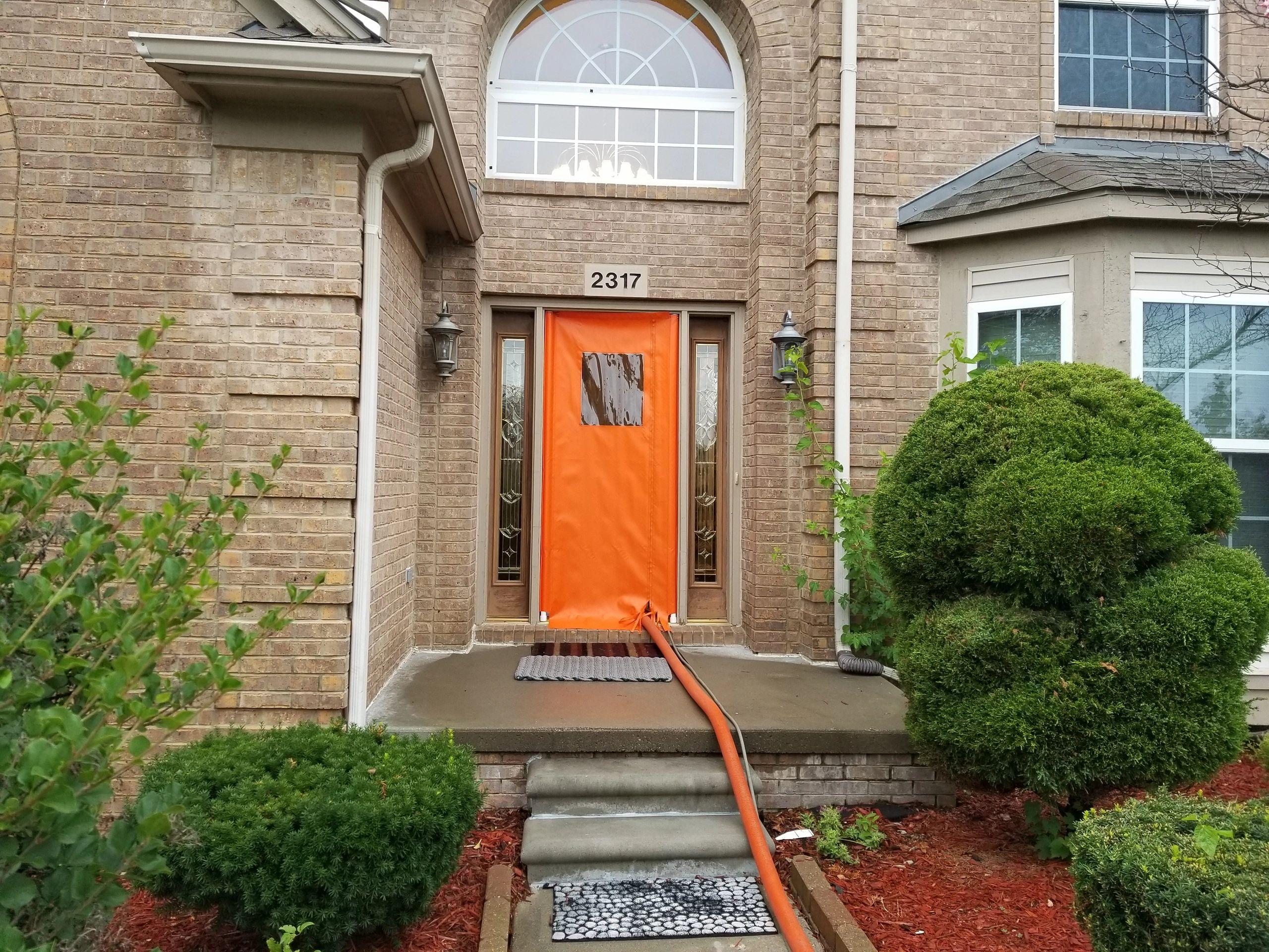 SEAL Canvas Products - Door Enclosure, Door Seal, Cleaning Supplies