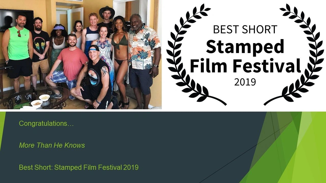 More  Than He knows: Best Short 2019 Stamped Film Festival