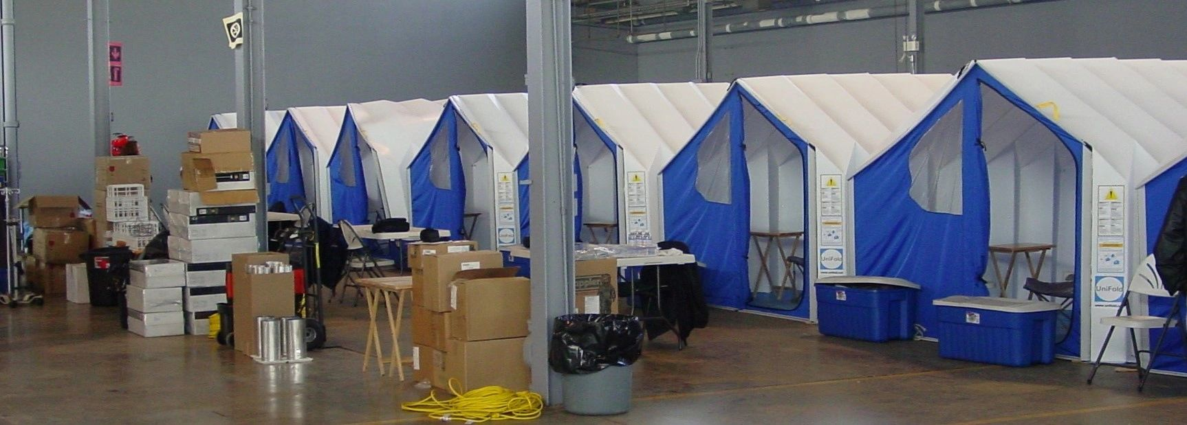 UniFold Shelters by Pine Valley Packaging