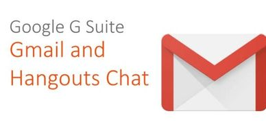Google G Suite: Gmail and Hangouts Chat