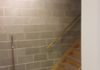 Basement Wall & Stairs Before