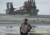 Dauphin Island, AL Washed up rig from Hurricane Katrina