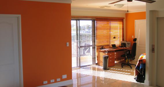 WA Painters Perth Colour Orange special finishes Painter Perth, Painting Contractor
