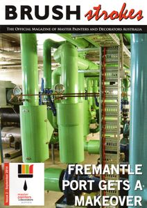 WA Painters article  painting Fremantle Port Authority Heating system in Perth WA by painters Perth