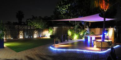 WA Painters-Perth, wapainters-perth.com.au backyard makeover paving, decking