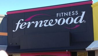 Fernwood Fitness club in Melville Perth. Painted with Cumberland a Wattyl id colour. By WA Painters