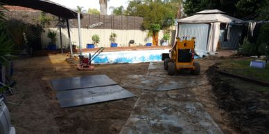 WA Painters-Perth clearing site works