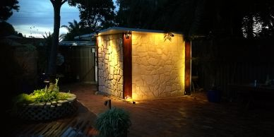 WA Painters-Perth shed limestone cladding painting varnish epoxy