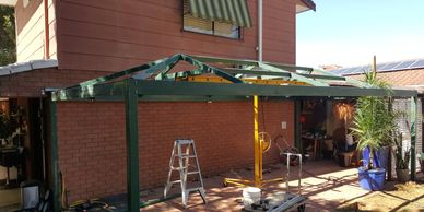 WA Painters-Perth carport