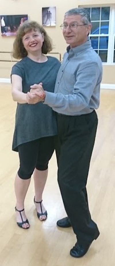 Julie & Randy at dance class