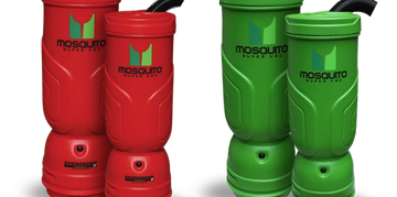 Mosquito vac 60% faster, high air-flow speeds cleaning, increasing productivity, & reducing costs