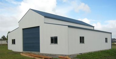"alt=""Barn with 25 degree roof 12m x 12m"""