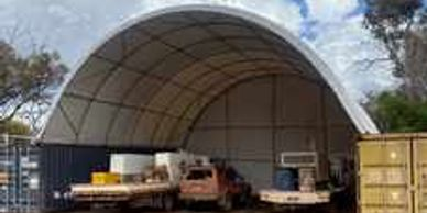 "alt=""Container domes to suit 20 and 40 ft shipping containers"""